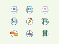 Onspot Social Icon Set