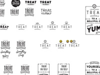 Treat Yourself Logo Exploration