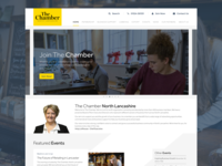 The Chamber Website Design