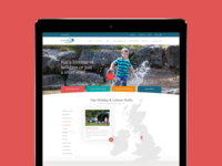 Pure Leisure Group Website Design