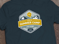 SBI Summer Camp Shirt Design