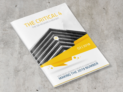 The Critical 4 - Research Report mockup print report business report business editorial layout editorial design editorial book report research report magazine print