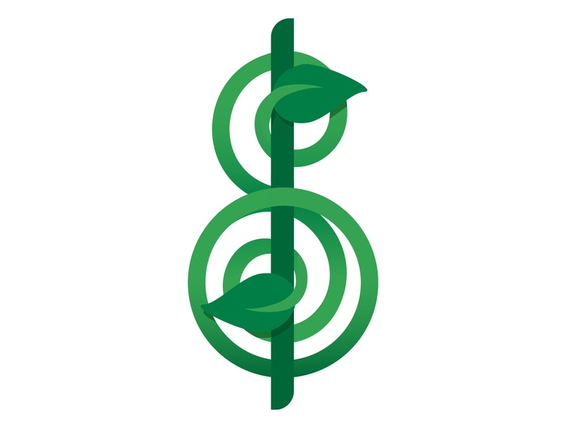 Miracle Grow: Tendril tendril sales grow miracle logo icon finance dollar brand