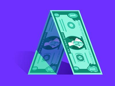 DocSend: Series A Fundraising series  a round venture capital vc money dollar washington dollar bill startup fundraising docsend illustration