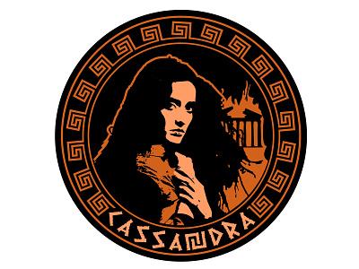 Mythical Maidens: Cassandra cassandra warn mythical prediction myth logo troy woman prophecy