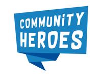 Community Heroes: Speech Bubble