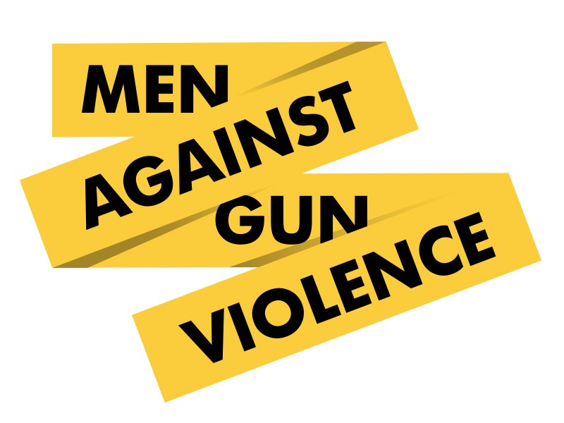 Men Against Gun Violence icon branding logo gun non profit gun violence
