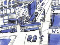 City Illustration III