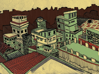 City Illustration IV