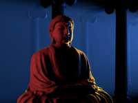 Buddha Lighting Test