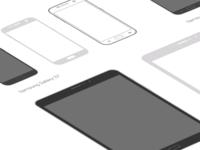 Samsung Device Mockups