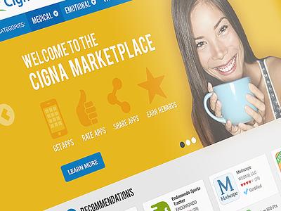 Healthcare App Marketplace responsive healthcare ui ux web