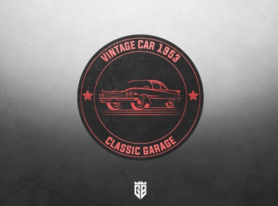Logo Vintage car 1953