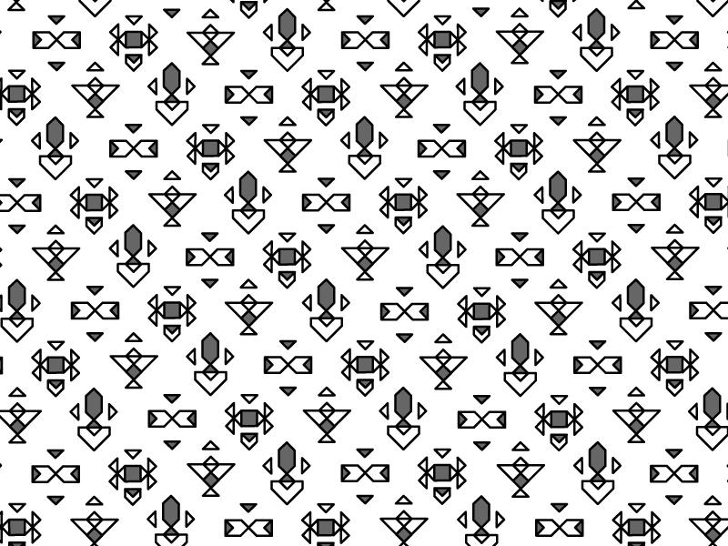 geometric 1 pattern geometric triangles repeat