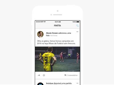 Newsfeed   iOS