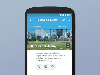 Venue Booking   Android App