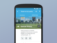 Venue Booking | Android App