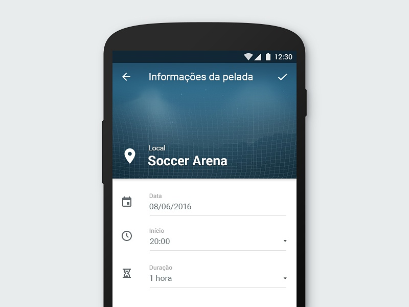 App android match new info