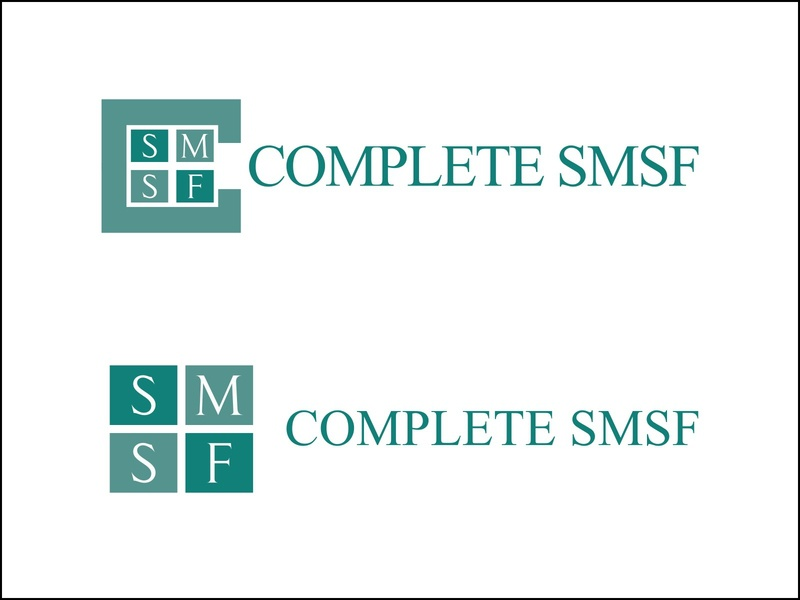 Complete SMSF serif professional accounting green design logodesign logo