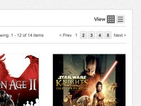 Search Results Grid View