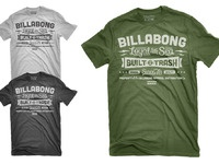 Billabong typetee all