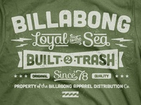 Billabong Leftovers - Type Tee