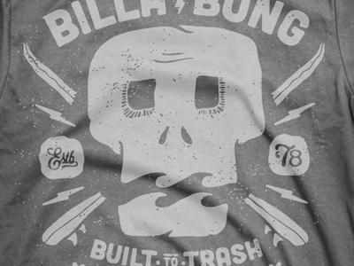 Billabong skull charcoal