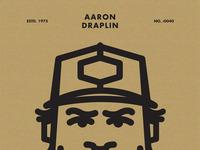 Draplin 40 poster