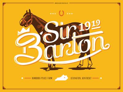 Sir Barton 1919 Poster