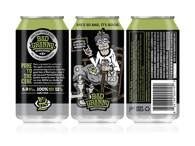 Bad Granny Hard Cider - 12oz Can Design