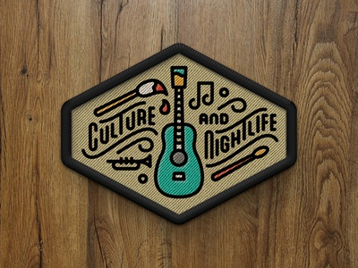 Culture and Nightlife Patch - 5280 Magazine
