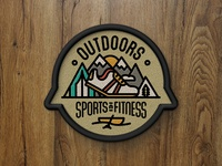 Outdoors Sports and Fitness Patch - 5280 Magazine