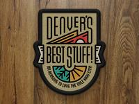 Denver's Best Stuff! Cover Patch - 5280 Magazine