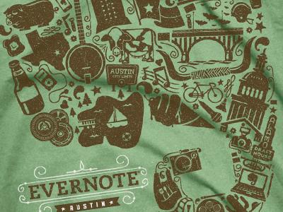 Evernote austin dribbble