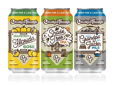 Crooked Thumb Brewery Can Release