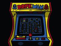 Less Than Jake Dopeman Arcade Gigposter