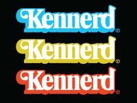 """Kennerd """"Toy Nerd"""" Logo Mashup"""
