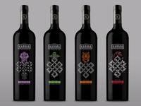 Karma Vineyarda Eternal Knot Wine Bottles
