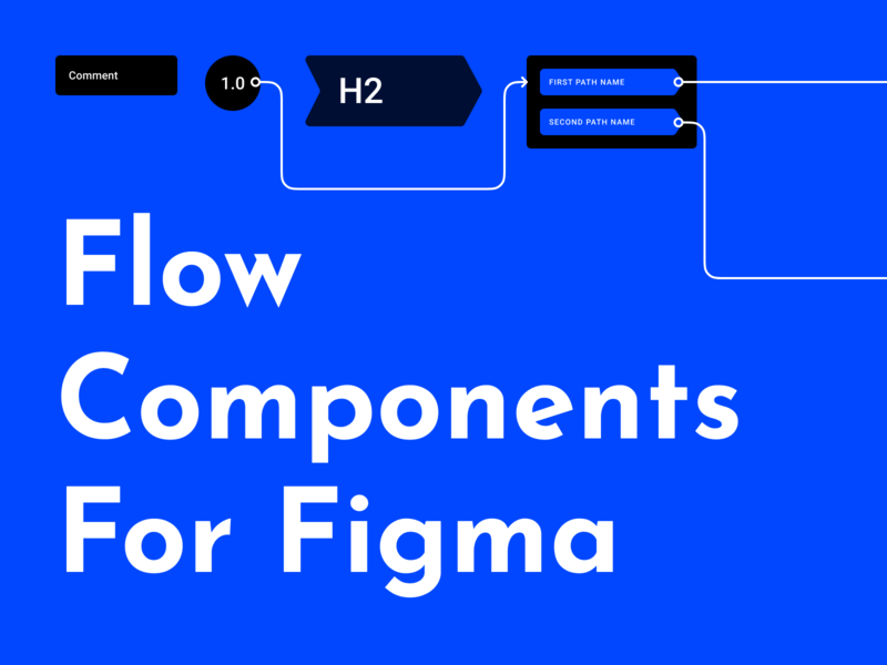 Flow components for Figma