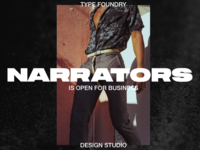 Narrators - Open for Business