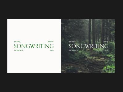 Bethel Music Retreats - Songwriting Brand