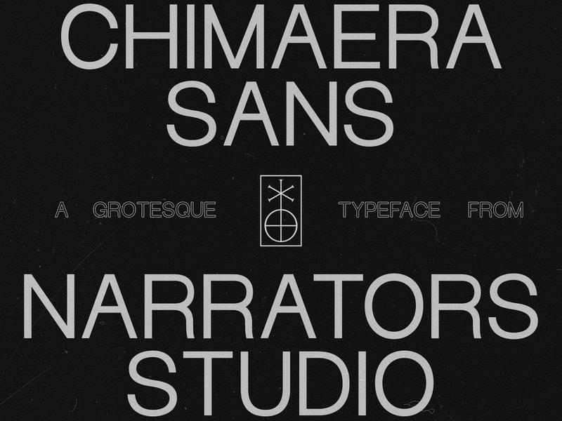 NF Chimaera Now Available typeface design type design type sans-serif sans serif grotesk grotesque narrators chimaera typeface fonts font