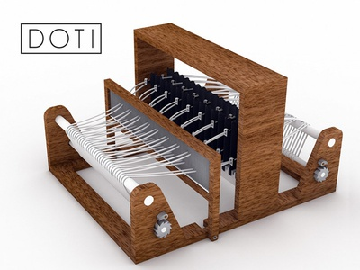Doti: The Desktop Jacquard Loom