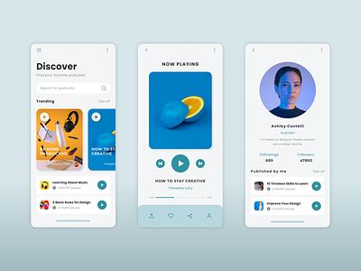 Music Player Apps ui music app music player uidesign mobile app design app design apps design