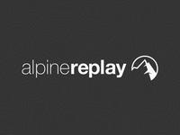Alpine Replay Full Logo