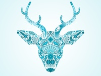 Huichol Blue Deer