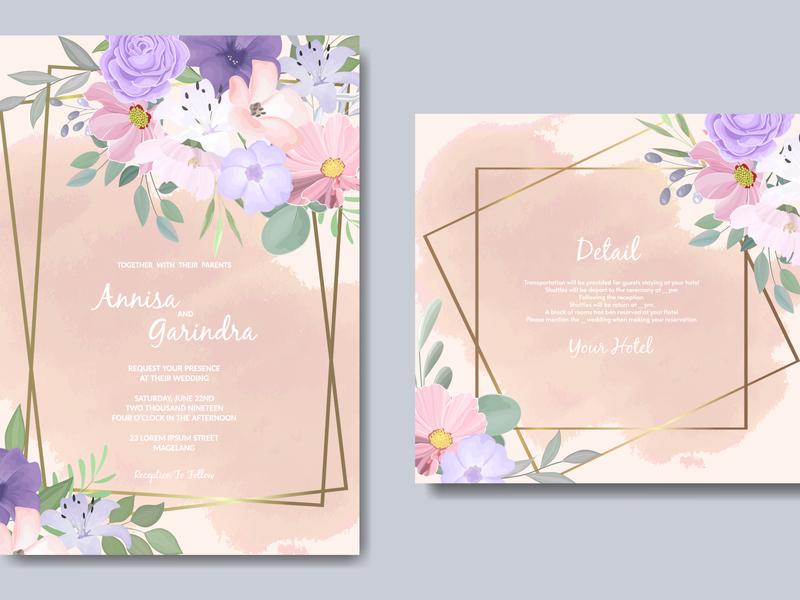 frame, wedding, background, card, floral, elegant, beautiful, i