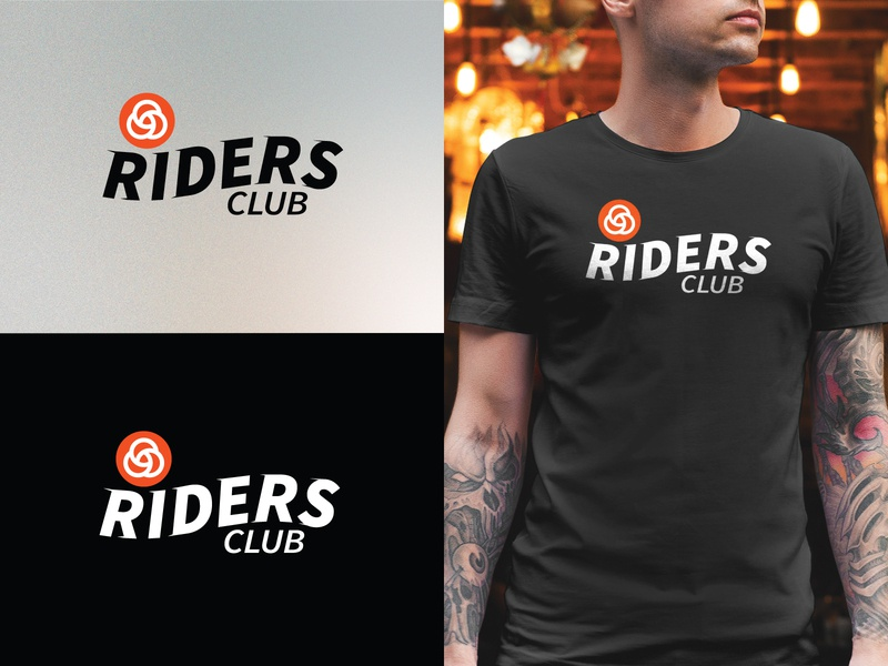Riders Club Logo/Tee Concept pnw t-shirt logo black portland apparel