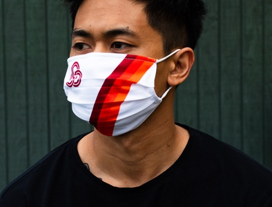 TriMet Masks portlandia black retro transit maps google haircut brand health safety covid19 masks pnw logos apparel logo public transit portland