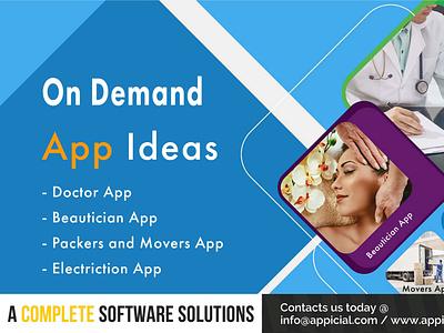 On Demand App Ideas ondemanddeliveryapps ondemandapp doctor app mobileappdevelopment medicinedeliveryapp ondemandappideas
